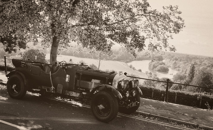 1920s Bentley on Richmond Hill