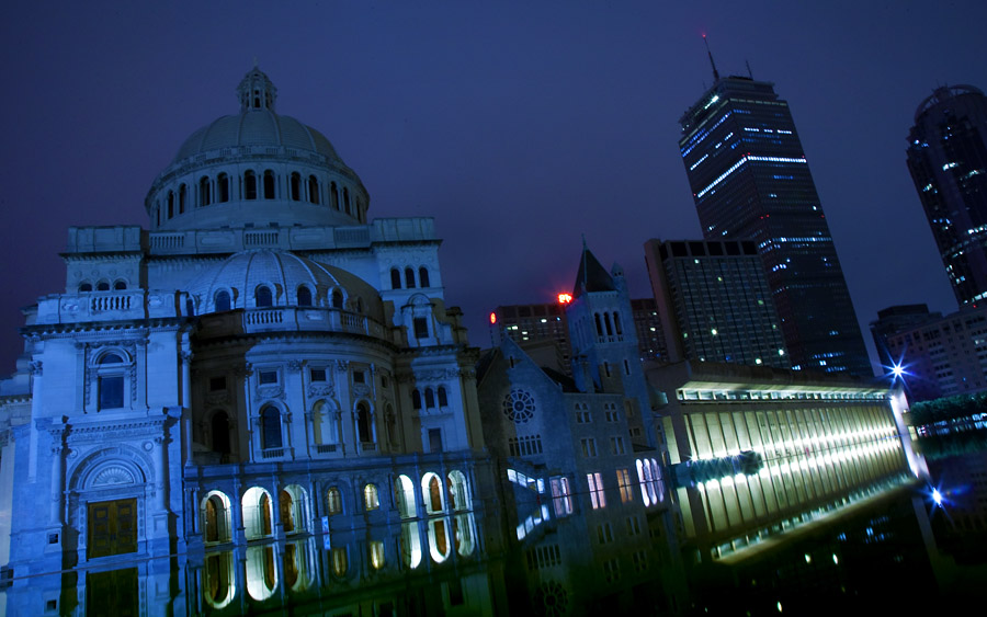Christian Science Plaza and Prudential Tower, Boston